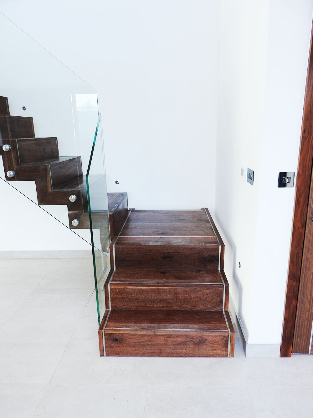 Staircases ad hoc designs for Quarter landing staircase